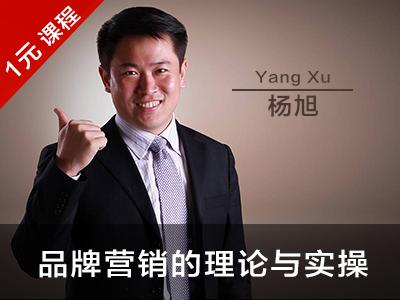 杨旭:品牌营销的理论与实操(节选)