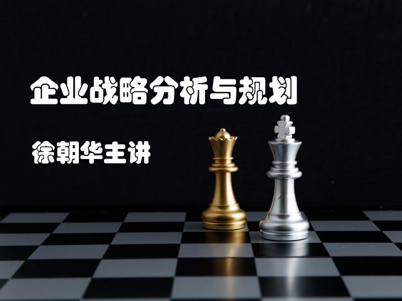 徐朝华:企业战略分析与规划 }