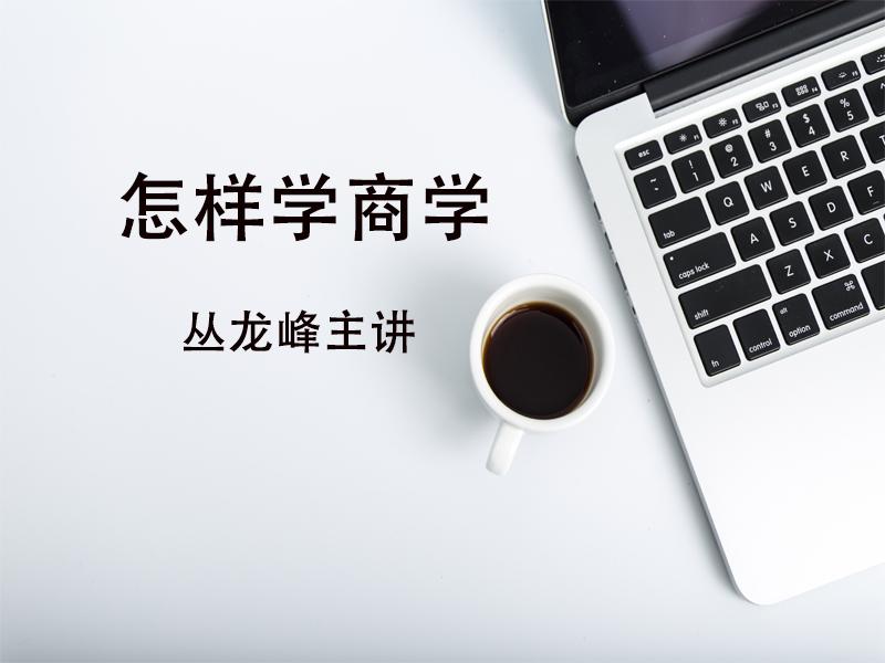 丛龙峰:怎样学商学 }