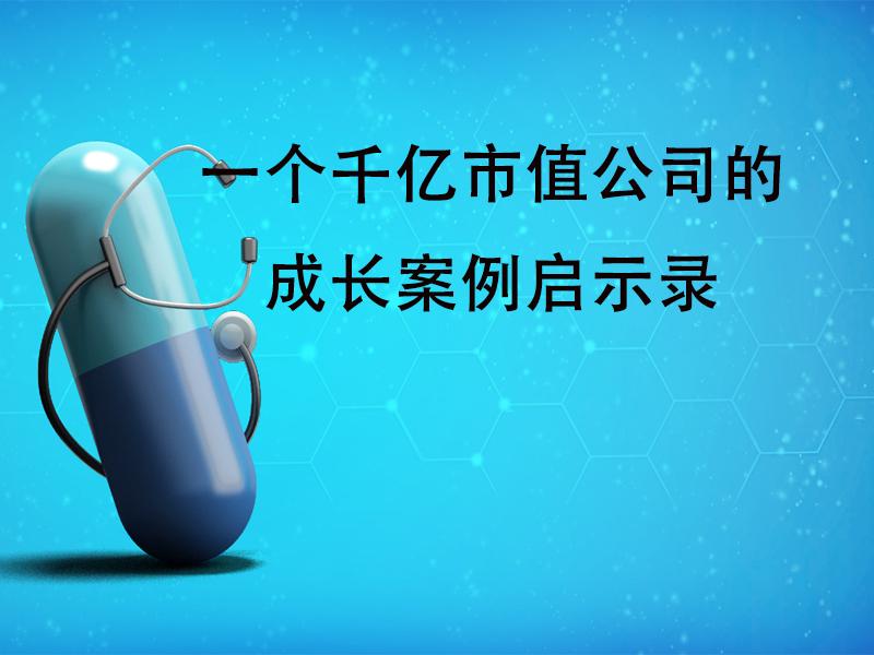 李文明:一个千亿市值公司的成长案例启示录 }