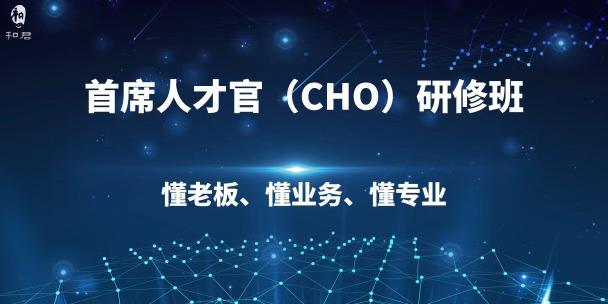 和君首席人才官 (CHO)高级研修班二期招生简章